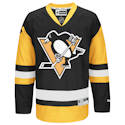 Pro Customized - ANY NAME - Pittsburgh Penguins RBK Junior (7 to 12 yrs old) Premier Jersey - Black