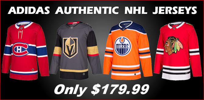save off ecab4 7519b Adidas NHL Jerseys - Sports Jerseys Canada