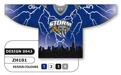 Athletic Knit Custom Sublimated Hockey Jersey