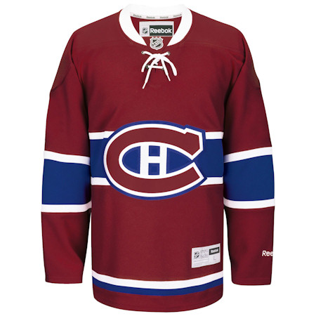 Montreal Canadiens RBK Youth (7 to 12 yrs old) Premier Jersey - Red