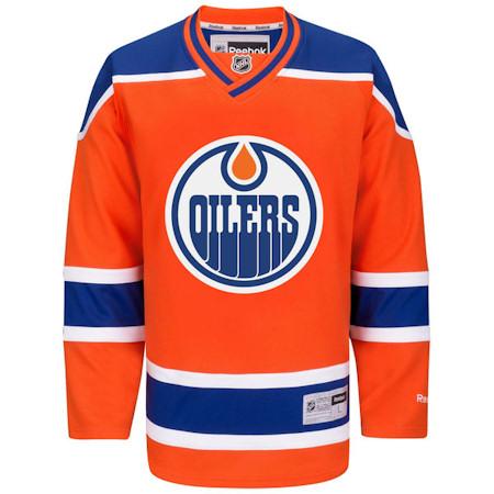 Edmonton Oilers Jersey - RBK Premier - Third