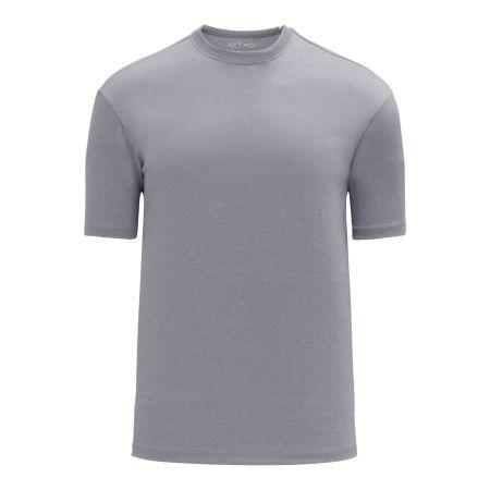 A1800 Apparel Short Sleeve Shirt - Heather Grey