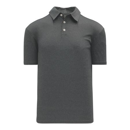 A1810 Apparel Polo Shirt - Heather Charcoal