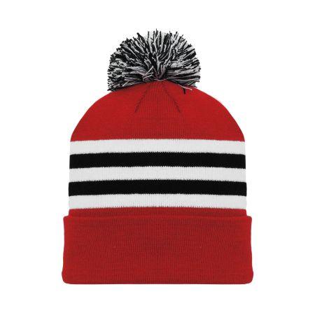 A1830 Hockey Toque - Chicago Red