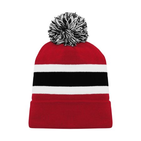 A1830 Hockey Toque - New Jersey Red