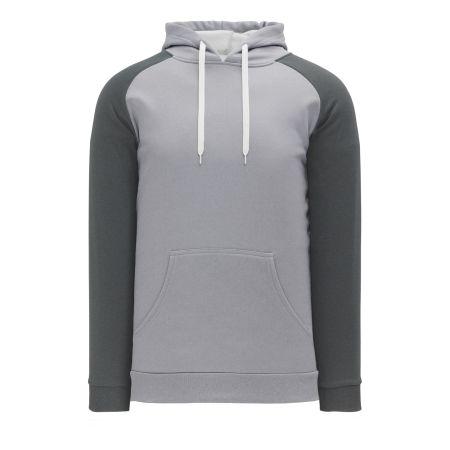 A1840 Apparel Sweatshirt - Heather Grey/Heather Charcoal