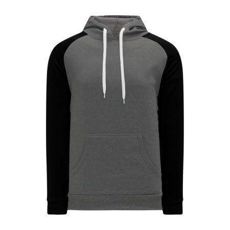 A1840 Apparel Sweatshirt - Heather Charcoal/Black