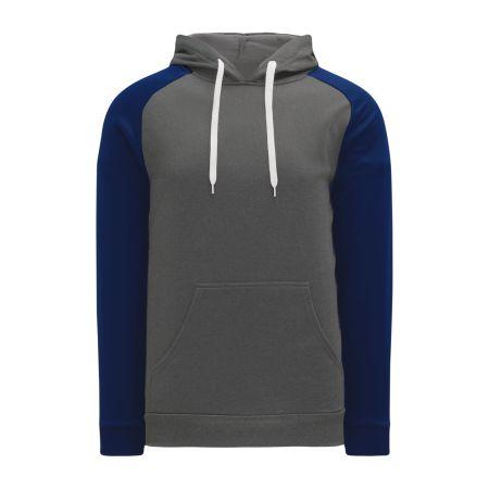 A1840 Apparel Sweatshirt - Heather Charcoal/Navy