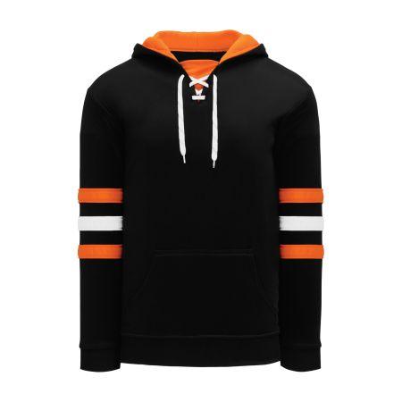 A1845 Apparel Sweatshirt - Black/White/Orange