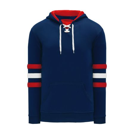 A1845 Apparel Sweatshirt - Navy/Red/White