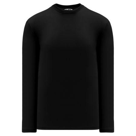 A1900 Apparel Long Sleeve Shirt - Black