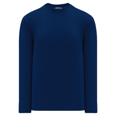 A1900 Apparel Long Sleeve Shirt - Navy