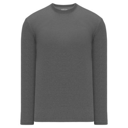 A1900 Apparel Long Sleeve Shirt - Heather Charcoal