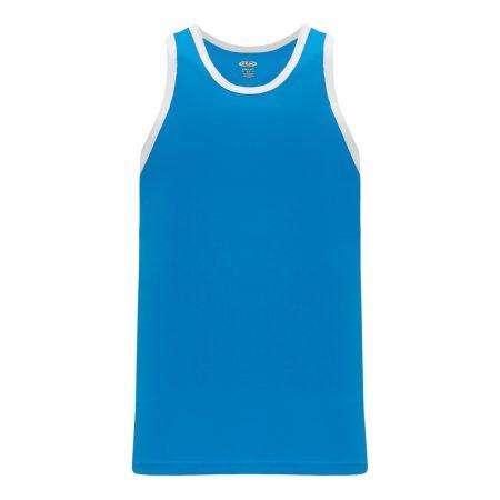 B1325 League Basketball Jersey - Pro Blue/White