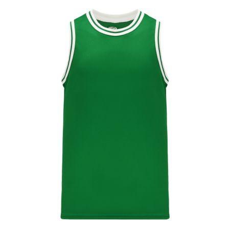 B1710 Pro Basketball Jersey - Kelly/White