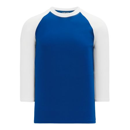 BA1846 Pullover Baseball Jersey - Royal/White