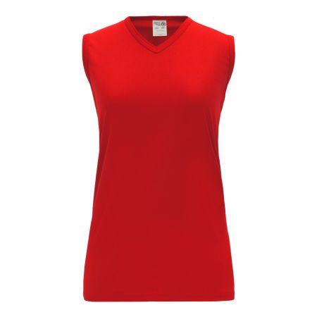 BA635L Women's Baseball Jersey - Red