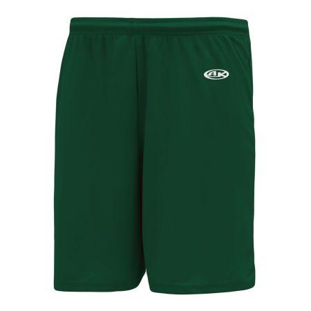 BS1300 Basketball Shorts - Dark Green