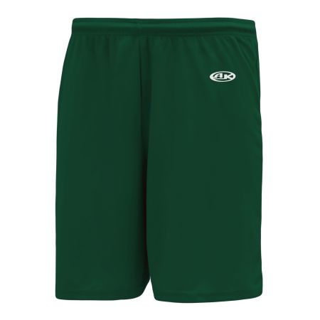 BS1700 Basketball Shorts - Dark Green