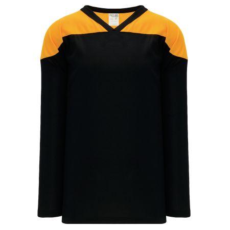 H6100 League Hockey Jersey - Black/Gold