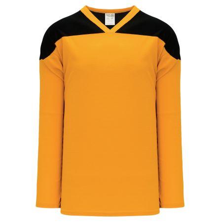 H6100 League Hockey Jersey - Gold/Black