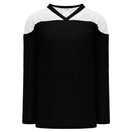 H6100 League Hockey Jersey - Black/White