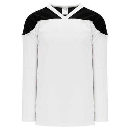 H6100 League Hockey Jersey - White/Black