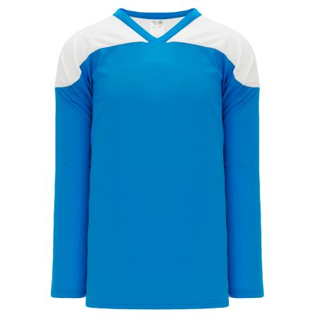 H6100 League Hockey Jersey - Pro Blue/White