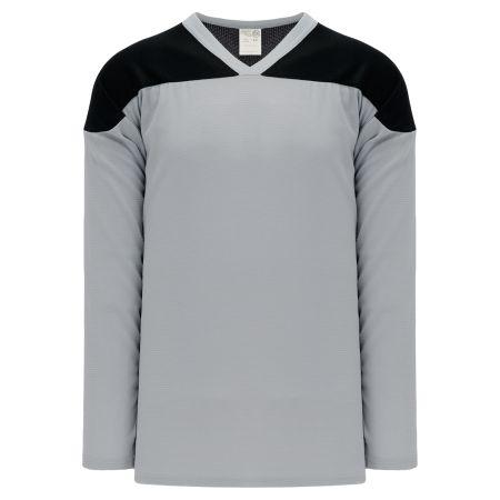 H6100 League Hockey Jersey - Grey/Black