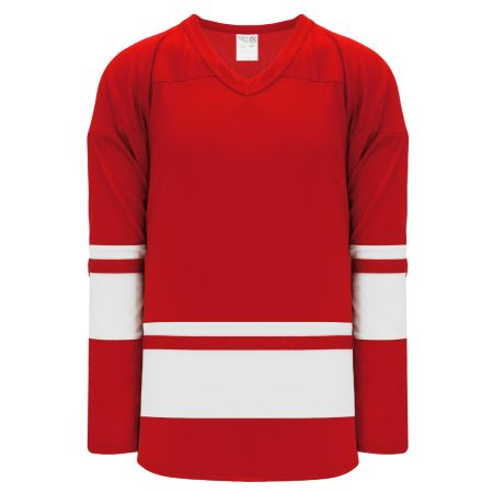 H6400 League Hockey Jersey - Red/White