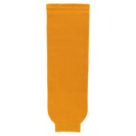 HS630 Knitted Solid Hockey Socks - Gold