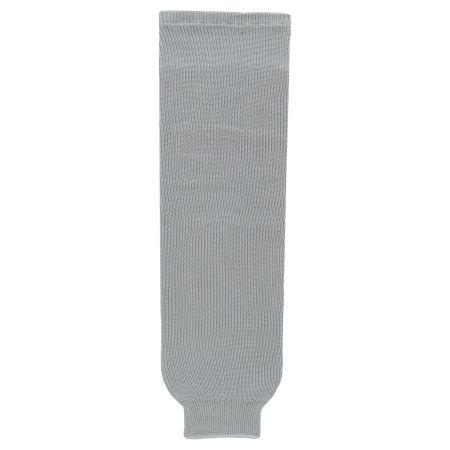 HS630 Knitted Solid Hockey Socks - Grey