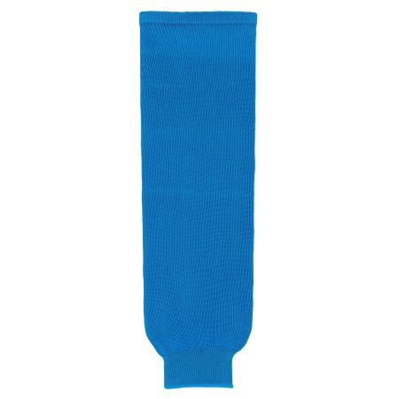 HS630 Knitted Solid Hockey Socks - Pro Blue