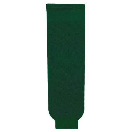 HS630 Knitted Solid Hockey Socks - Dark Green