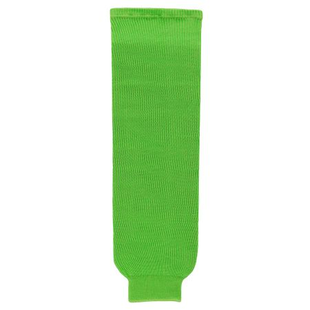 HS630 Knitted Solid Hockey Socks - Lime Green