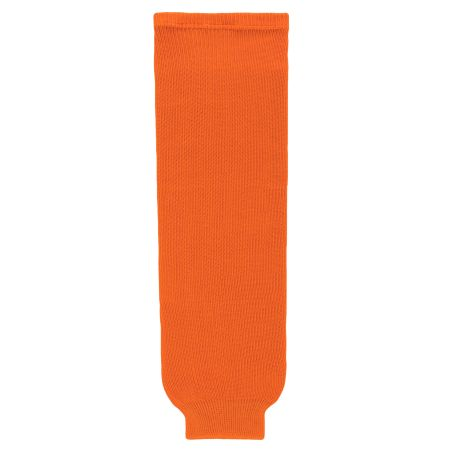 HS630 Knitted Solid Hockey Socks - Orange