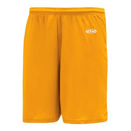 SS1300 Soccer Shorts - Gold