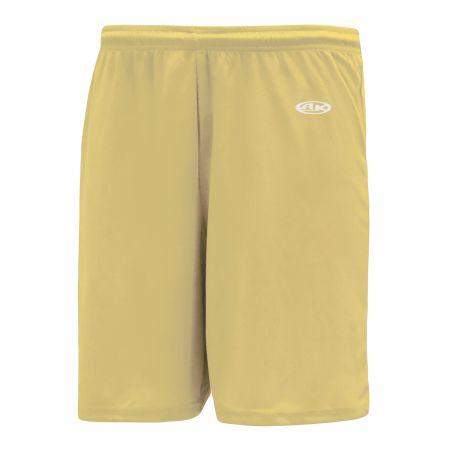 SS1300 Soccer Shorts - Vegas Gold
