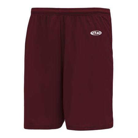 SS1300 Soccer Shorts - Maroon