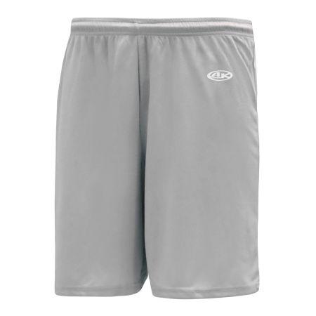 SS1300 Soccer Shorts - Grey