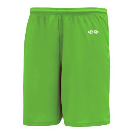 SS1300 Soccer Shorts - Lime Green