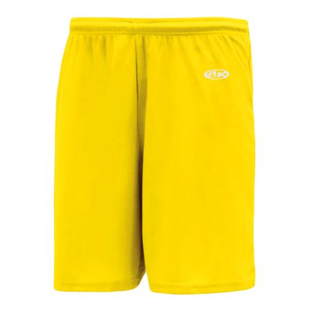 SS1300 Soccer Shorts - Maize