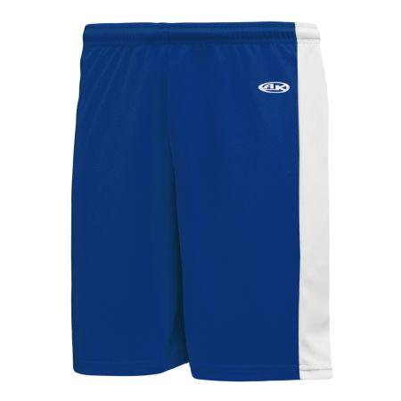 SS9145 Soccer Shorts - Royal/White