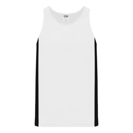 T205 Track Jersey - White/Black