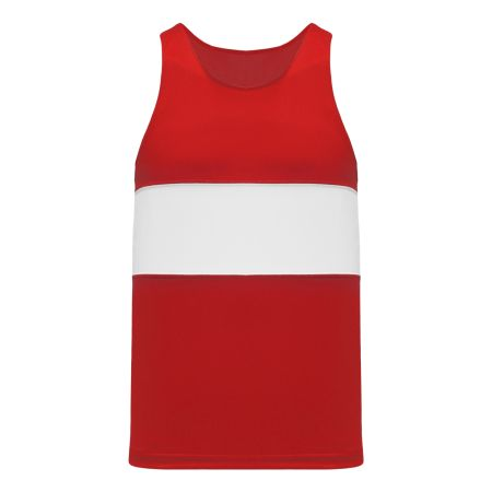 T220 Track Jersey - Red/White