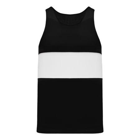 T220 Track Jersey - Black/White
