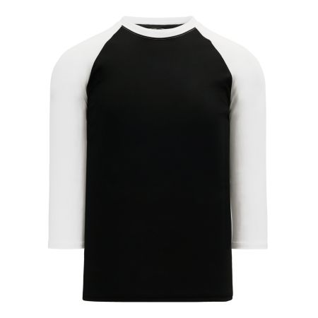 V1846 Volleyball Jersey - Black/White