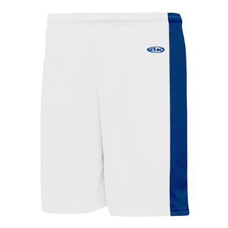 VS9145 Volleyball Shorts - White/Royal