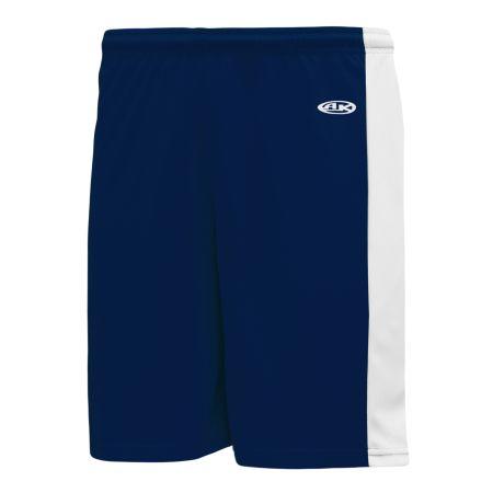 VS9145 Volleyball Shorts - Navy/White