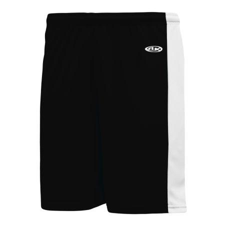 VS9145 Volleyball Shorts - Black/White